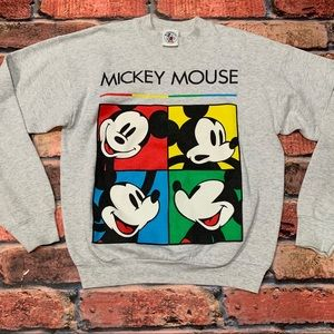 Vintage Mickey Mouse Crewneck Size L